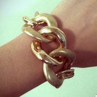 Gold Chain Bracelet