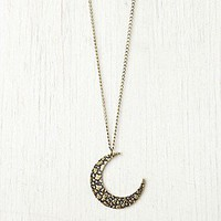Free People Clothing Boutique > Moon Crescent Necklace