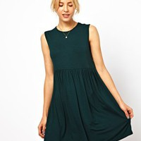 ASOS Sleeveless Smock Dress at asos.com