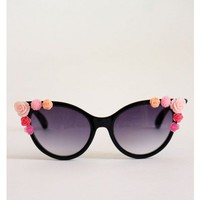 Flower Power Shades - Black