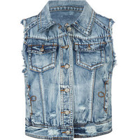 LOST Wallace Womens Denim Vest 206769800 | Vests | Tillys.com
