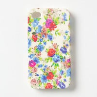 Floral iPhone 4 & 4S Case