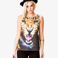 Leopard Muscle Tee