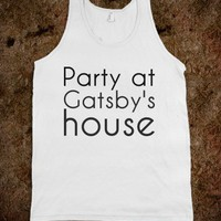 gatsby tank - Happy Friday
