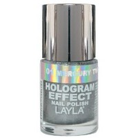 Layla Hologram Effect Nail Polish, 1.9 Ounce