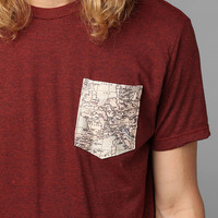 Europe Map Pocket Tee