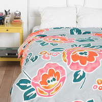 Plum &amp; Bow Peonies Duvet Cover