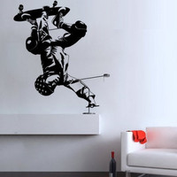 Skater wall decal