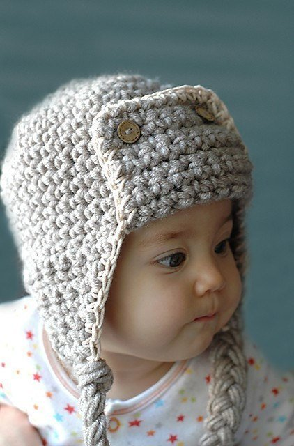 Pilot Hat Newborn and 03M by beliz82 on Etsy