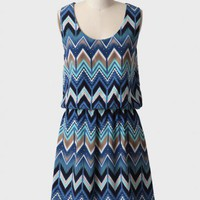 bay of kotor chevron dress at ShopRuche.com