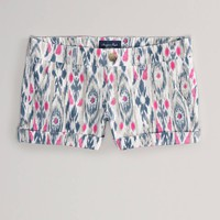 AE Printed Midi Short | American Eagle Outfitters