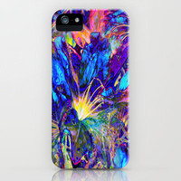 Blue Garden  iPhone Case by RokinRonda | Society6