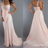 Chic One-shoulder Chiffon Prom Dress