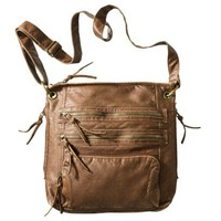 Bueno Washed Crossbody Handbag - Light Bronze