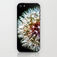 Fractal dandelion iPhone & iPod Skin by Mark Nelson | Society6