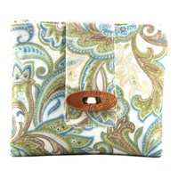 Accessory Holder, Pouch, Wallet, Zipper Pouch, Blue, Green, Tan