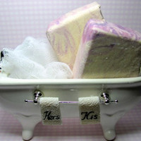 Handmade  Salt Spa Bar Soap Dolce and Gabbana by ForgetMeNotSoapShop