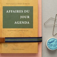 Present&Correct - French Book Agenda