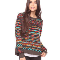 Abstract Pattern Sweater | FOREVER21 - 2000027379