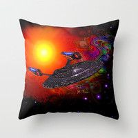 Enterprise NCC 1701E Throw Pillow by JT Digital Art  | Society6