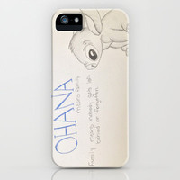 Lilo and Stitch iPhone Case by Elyse Notarianni | Society6