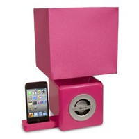 Amazon.com: iHome Speaker Ambient Lamp - Pink: MP3 Players & Accessories