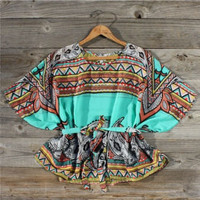 Fabeled Sky Blouse, Sweet Country Inspired Clothing