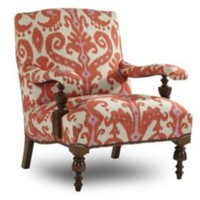 One Kings Lane - Fireside Chic - Nathan Turner Sanchez Chair, Ikat