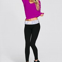 Yoga Legging - PINK - Victoria&#x27;s Secret