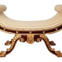 One Kings Lane - Agostino - Gilded Regency Bench