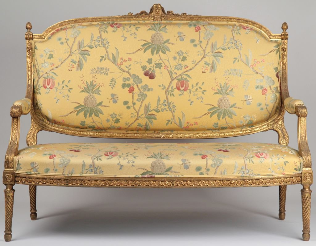 French Louis Xvi Style Carved And Gilded From Rubylane Home