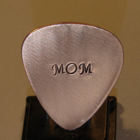 Guitar Pick handmade from Copper for Mom by NiciLaskin on Etsy