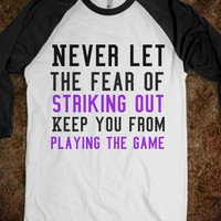 Striking out - Art design