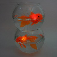 Floating Goldfish Light