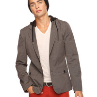 Casual Hooded Blazer | 21 MEN - 2087532205