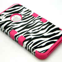 Zebra Pink Skin Case For...