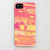 Sherbet Palms iPhone Case by Rosie Brown | Society6