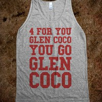 You Go Glen Coco (Gray Tank) - Fun, Funny, & Popular