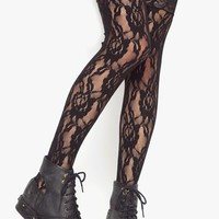 Lana Lace Thigh High in  Clothes Back In Stock at Nasty Gal