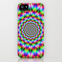 Psychedelic Explosion iPhone Case by Objowl | Society6
