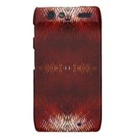 A Time For Rust? Droid RAZR Cases from Zazzle.com