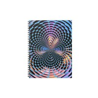 Blue Spin Spiral Note Book from Zazzle.com