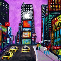 Time Square Art Prints by Laura Barbosa - Shop Canvas and Framed Wall Art Prints at Imagekind.com