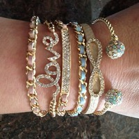 arm candy stack crystal ...