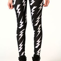 Hera Lightning Print Leggings
