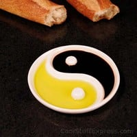 Zen Yin and Yang Dipping Bowl