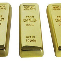 Buy Unique Gold Bar USB Flashdrive - GULLEITRUSTMART.COM