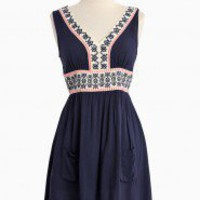 Evita&#x27;s Song Embroidered Dress | Modern Vintage New Arrivals