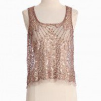 Ready For Glamour Sequined Top | Modern Vintage New Arrivals