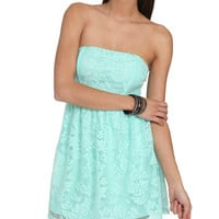Lace Bar Back Dress | Shop Just Arrived at Wet Seal